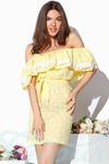 Легкое платье воланы 42 44 46 Gepur