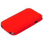 Чехол Exakted для Samsung Galaxy S5 mini SM-G800H с откидным верхом Красный в техпаке
