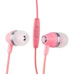 Наушники Hoco M4 Colorful Universal Earphone (1.2 м) с микрофоном Pink