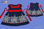 Платье для девочек модель 01