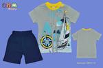 Комплект для мальчиков (футболка+шорты)