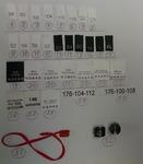 Размерники, составники, пломбы (32 товара) цена за 10 шт