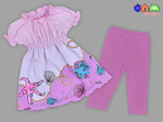 Комплект: туника + бриджи для девочек