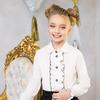 Блузка школьная для девочки. Распродажа!!!
