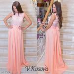 Платье с пояском