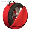 Комплект чехлов для хранения колес Tplus, 680х230 мм, синий, T001452