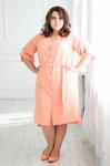 Платье 163-2 56-66рр, персик