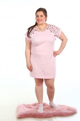 НС-002 Ночная сорочка для беременных и кормящих (44-58р), кулирка
