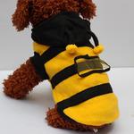 Комбез на собачку пчелка