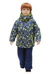 Комплект для мальчика А 139-15 синий/салат