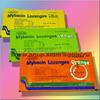 В наличии 2 шт Пастилки Mybacin Lozenges – быстрое избавление от боли в горле Апельсин