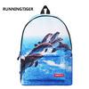 Рюкзак школьный -CH1719-5 дельфин