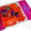 """Шарик возд. в пакете 167-1 """"Оранжевый металлик"""" 25шт, 30 см /1 /0 /800"""