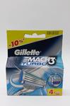 Кассеты для бритья Gillette Mach3 Turbo ,4 шт