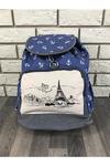 Рюкзак  – идеальное решение для учебы и прогулок по городу. Высота 40см