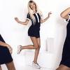 .Повседневное платье в спортивном стиле никогда не будет лишним в гардеробе