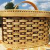 Хлебница плетеная средняя