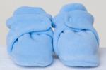 Мягкие флисовые пинетки для новорожденных