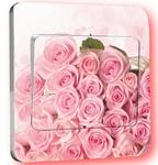 Наклейка на выключатель Розы