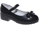 Туфли для девочек КАНАРЕЙКА A832-1 черн