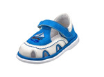 ТОП-ТОП Туфли ясельные Цвет: голубый+белый