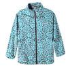 Куртка для девочки Темные цветы