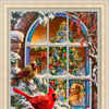 НИК 9478 Новогодний вечер-рисунок на ткани