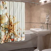 Шторы для ванной Звезда