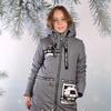 Пальто для девочки. Зима