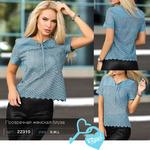 Прозрачная женская блуза