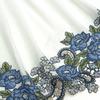 ШТАПЕЛЬ вышивка купон 1930(МЛ) синий