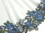 ШТАПЕЛЬ вышивка купон 1930(МЛ) синий выкуп 3