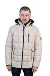 Куртка мужская зимняя Модель ЗМ 10.21 молочный