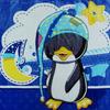 Одеяло-плед Пингвин арт. 001 Б