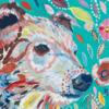 Картина-раскраска по номерам 40*50 GX 4276 Цветной медведь