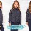 Контрастная детская блузка