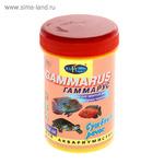 "Корм для крупных рыб и водных черепах ""Гаммарус"", сушеный рачок, 200 мл"