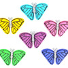 Набор декоративных пуговиц 'Dress It Up' (4820 Бабочки на закате)