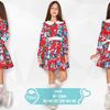 Детское цветочное платье
