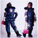 Детские зимние комбинезоны для девочек