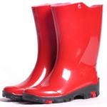 Сапоги Nordman Kids Rain резиновые, красные