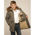 Зимние куртки парки для мальчиков