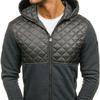 Куртка мужская переходная спортивная графитовая Denley z402
