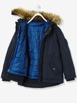 Мальчиков 3-в-1 куртка с Полярной флисовой подкладкой - темно-синий твердый