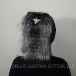 """Меховая шапка """"Невеста"""" цвет горький шоколад , мех кролик рекс. Подробнее: https://xn-----7kcgobxpmiohaje2czb8cyc.xn--p1ai/p202103467-mehovaya-shapka-nevesta.html"""