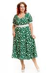 Легкое платье приталенного силуэта ( размеры 52-62)