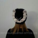 """Меховая шапка """" Фаина"""" мех ондатра, цвет черный. Подробнее: https://xn-----7kcgobxpmiohaje2czb8cyc.xn--p1ai/p202116156-mehovaya-shapka-faina.html"""