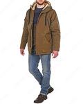 Куртка средней длины на утеплителе 17715