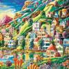 Картины по номерам 40*50 (большие), производитель Paintboy (Китай) GX 3048 Волшебный город