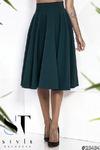 Шикарная юбка-солнце миди